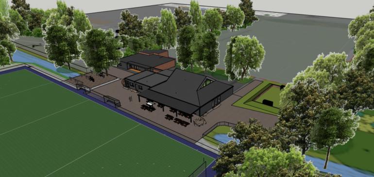 'Hockeyclub UNO wordt volwassen op Sportpark Vechtzoom'