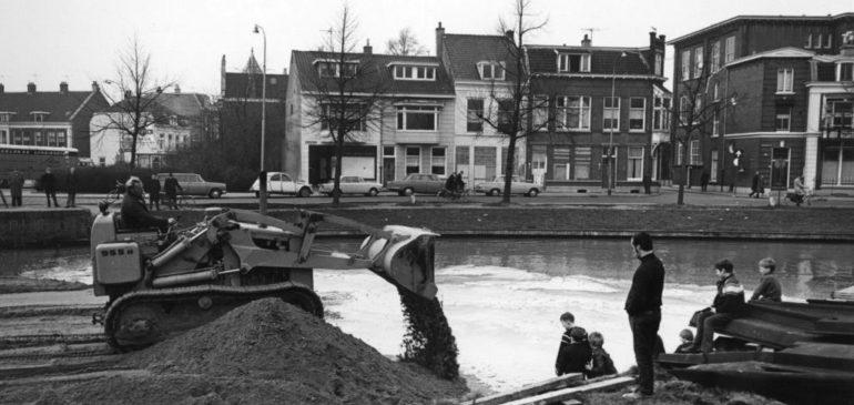 Oude tijden: welke straat in Pijlsweerd was dit?