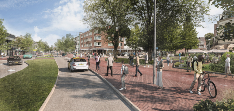Nieuwe inrichting Amsterdamsestraatweg