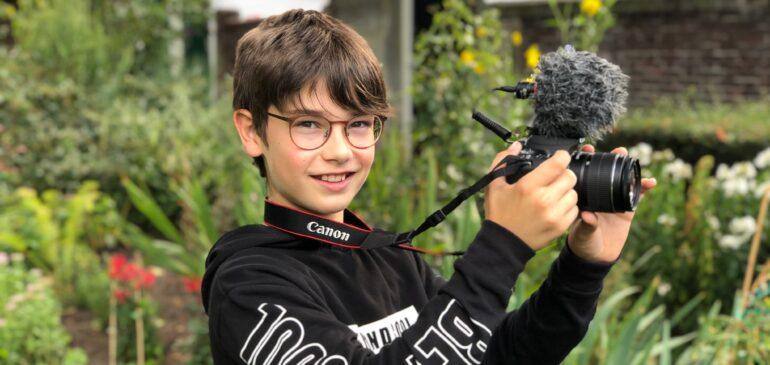 Ilja heeft passie voor film en fotografie