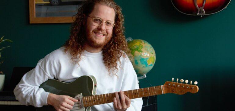 Talent in de buurt: Leon kreeg de liefde voor muziek van zijn vader