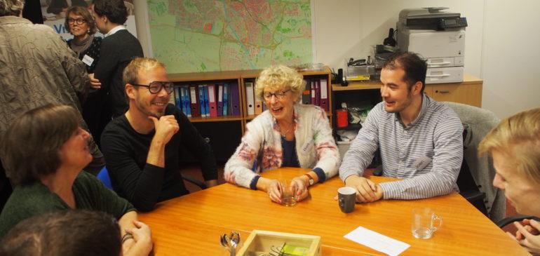Politici in gesprek bij Humanitas: 'Vrijwilligers bieden perspectief'