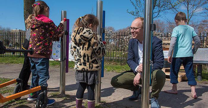 Speeltuin Noordse park wordt 'Samenspeeltuin'