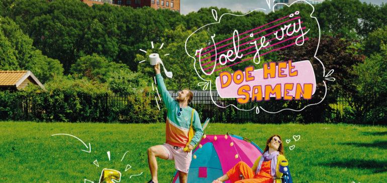 De Buurtcamping: Voel je vrij, doe het samen!