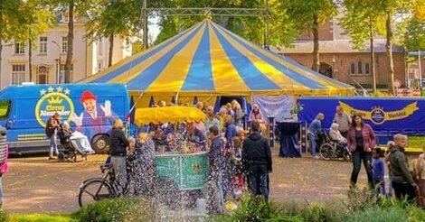 Circus en friet voor Utrechtse mantelzorgers op zondag 31 oktober