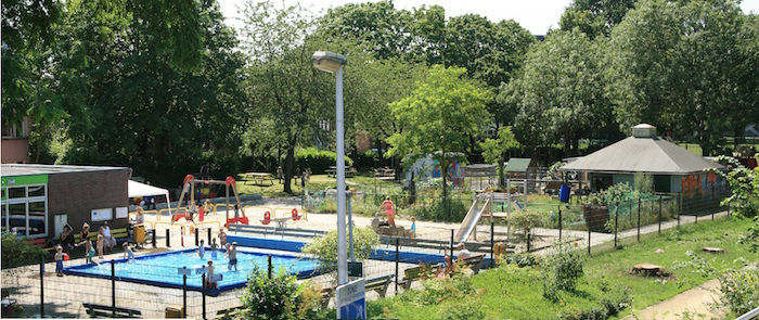 Het bruist in speeltuin Noordse Park