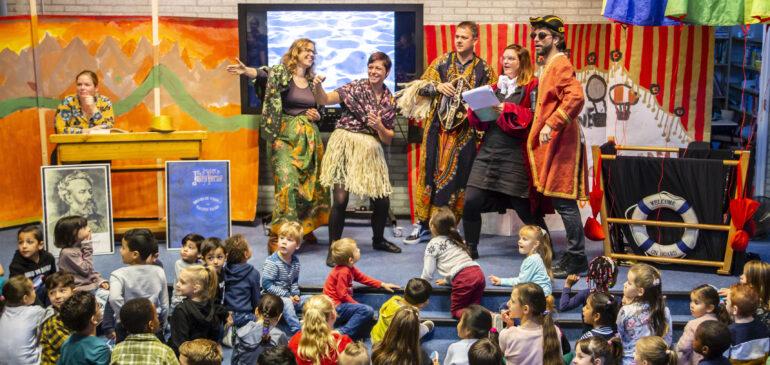 Feest op 100-jarige basisschool Jules Verne